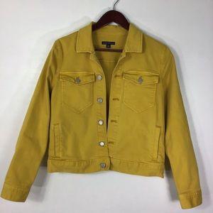 J. Crew Yellow Jean Jacket
